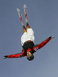 <b>Aerial Skiers Blur the Lines Between Athlete and Stuntman</b>&#8220;></td> <td> <p>(<a href=