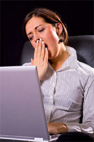 <b>Waking Up Tired? You May Have Sleep Apnea</b>&#8220;></td> <td> <p>(<a href=