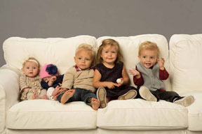 Bates Family Grows as Daughters Become Moms