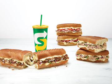 New Subway Sandwiches Reinvent the Grilled Cheese