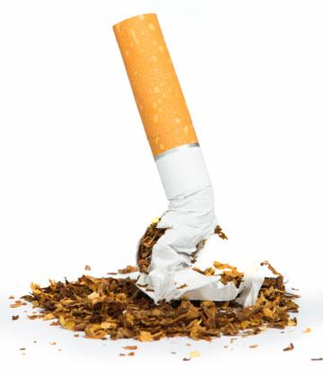 Parar de fumar agora