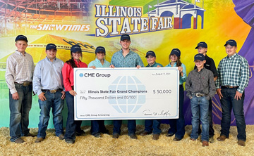 Young Illinois Farmers Awarded Nearly $60K from CME Group