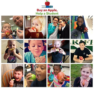 U.S. Apple Industry Supports Student Causes and Promotes Healthy Snacking