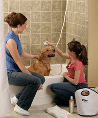 <b>Tips For Easier Dog Bathing</b>&#8220;></td> <td> <p>(<a href=