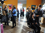 <b>Cosmetology Offers Domestic Violence Victims New Path</b>&#8220;></td> <td> <p>(<a href=