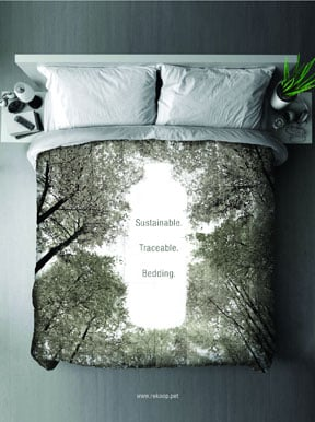 New Bedding Line Boasts Recycled Materials