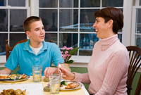 <b>Bringing Family to the Dinner Table</b>&#8220;></td> <td> <p>(<a href=