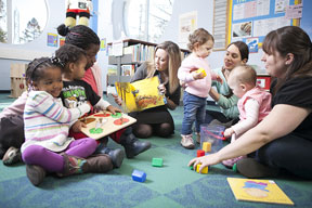 Initiative Transforms Libraries into  Early Learning Centers for Families