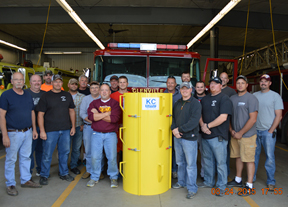 Fire Department Saves Farmer with A Grain Rescue Tube from Nationwide