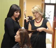 <b>Students Turn to Promising Profession: Cosmetology</b>&#8220;></td> <td> <p>(<a href=