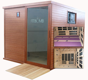 Fitness Sauna Promotes Health and Profit for Small Businesses