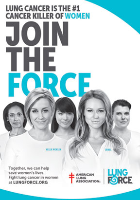 Join the Force to Fight Lung Cancer in Women