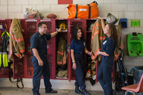 Volunteer Fire Departments Work to Reach Next Generation