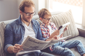Encourage a Love of Reading During National Family Literacy Month
