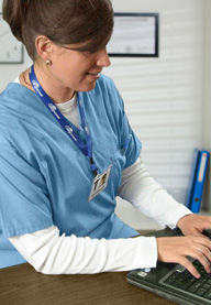 <b>Online Education Puts Nurses on the Right Track</b>&#8220;></td> <td> <p>(<a href=