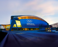 After the Games, Olympic Venue City Comes to Life