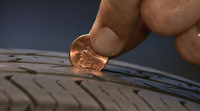 This Easy Tire Tread Test Only Costs A Penny