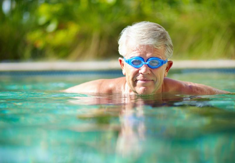 A Dip in the Pool Is a Blood Pressure- And Cholesterol-Lowering Bonanza