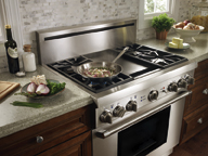 <b>Professional Ranges Make Gourmet Meals</b>&#8220;></td> <td> <p>(<a href=