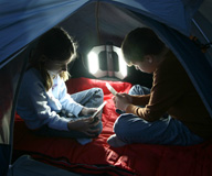 Camping? Make Sure to Travel a Well-Lit Path