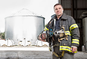 Fifth Annual Fire Department Contest Highlights Grain Bin Safety