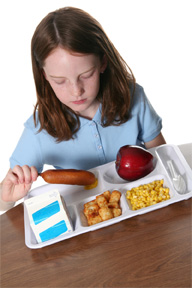 Healthier Meals on the Way to Schools