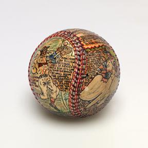 The Art of the Seam! Chrysler Museum Honors Baseball Folk Artist