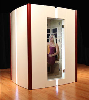 Sweating It Out -- In-Home Infrared Sauna Helps Detoxify, Build and Heal