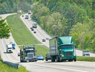 <b>Industrial Slowdown Puts Trucking Firms in Driver&#8217;s Seat</b>&#8220;></td> <td> <p>(<a href=