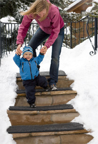 <b>Heated Stairs Step Up Safety, Convenience</b>&#8220;></td> <td> <p>(<a href=