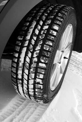 Don't Tread Lightly On Winter Tire Safety