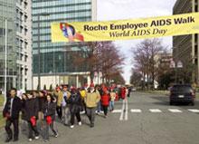 <b>Walking the Walk for AIDS</b>&#8220;></td> <td> <p>(<a href=